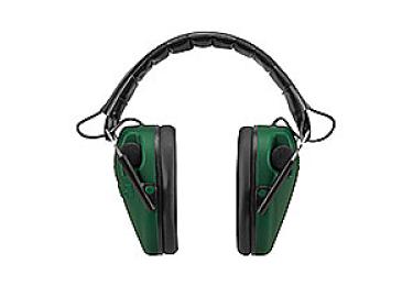 Наушники активные складные 23 дБ Caldwell E-Max Low, чёрный/зеленый, 487557