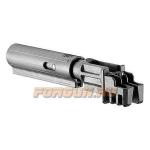 Трубка телескопического приклада для АК47, АКМ, Сайга, пластик, компенсатор отдачи, FAB Defense, FD-SBT-K47