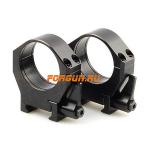 Кольца 34 мм на Weaver быстросъемные, высота 13 мм, сталь Luman Precision средние LP34MED (черный)