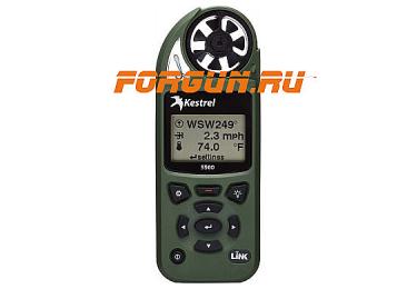Ветромер Kestrel 5500 Olive (время,скорость ветра,температура воздуха,воды, водонепроницаемый,более 14 различных параметров) 08550LV