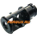 Дульный тормоз компенсатор (ДТК) 9 мм для Сайга 9 под 9х19 с резьбой М16 х1 Тактика Тула УТЕС-У 20051