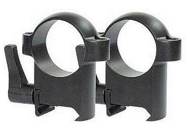 Кольца Burris Zee quick (26 мм) на Weaver, высокие, быстросьемные, раздельные, 420037