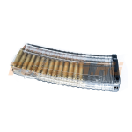 Магазин Pufgun на ВПО-155, 5,56х45, 30 патронов, поликарбонат, прозрачный, 165 г