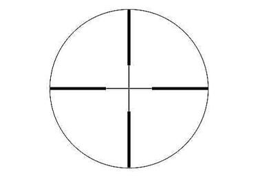 """Оптический прицел IOR Valdada 4x32/1"""" Hunting со стальным корпусом (7A)"""