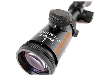 Оптический прицел Hakko 3-9x42 25.4мм Superb B1Z-IL-3942, с мультицветной подсветкой