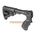 Приклад для Remington 870, телескопический, рукоятка, пластик, FAB Defense, FD-AGR 870 FK