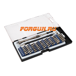 Набор инструментов Wheeler Engineering Precision Micro Screwdriver Set 58 шт., 564018