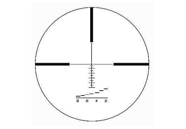 Оптический прицел IOR Valdada 2.5-10x42 30mm Hunting с подсветкой (RANGING)