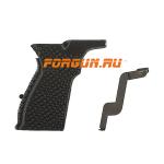 Рукоятка пистолетная для ПМ, пластик, с ЛЦУ и сбросом магазина PM LASER