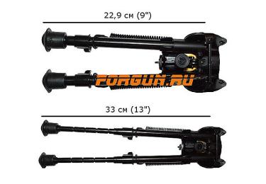 Сошки для оружия Caldwell XLA Fixed (на антабку) (длина от 22,9 до 33 см), 403215