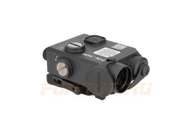 Тактический блок Holosun Multi с красным ЛЦУ и выносной кнопкой, ИК лазер и фонарь, быстросъемный на Weaver (LS321R)