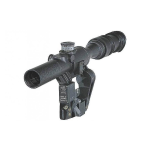 Оптический прицел Беломо ПОСП 6х42 В Pro, с тактическими барабанчиками, (для Вепрь/Сайга)