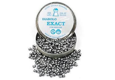 Пульки к пневматике 4.5 мм JSB Diabolo Exact Express (.177), вес 0,510г банка 500 шт