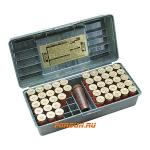 Кейс для патронов 12 калибра (на 50шт) с местом для манка MTM SF-50-12-09