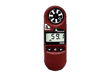 Ветромер Kestrel 3000 (встроенный анемометр,время,скорость ветра,температура воздуха, воды, снега, влажность, точка росы) 0830