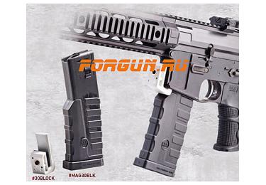 Магазин 5,56х45 мм (.223REM) на 30 патронов для M4/M16/AR15 с индикатором количества патронов CAA tactical MAG30BLK, полимер, черный