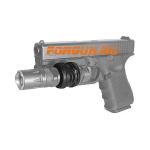 _Крепление для фонаря и ЛЦУ, на Weaver/Picatinny, диаметр 25,4 мм для Glock CAA tactical PLS1Q-GP