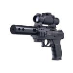 Пневматический пистолет Walther CP99 Night Hawk черный (Umarex)