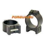 Кольца 30 мм на Weaver высота 6 мм Warne Maxima Fixed Low, 213M, сталь (черный)