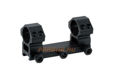 Кронштейн Leapers UTG с кольцами 25,4 мм, не быстросъемный, RGWM2PA-25M4