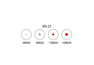Коллиматорный прицел HAKKO BED-5 VD-21 (4 точки)