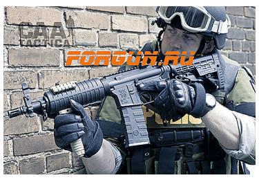 Рукоятка передняя на Weaver/Picatinny, быстросьемная, пластик, CAA tactical BVG