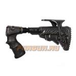 Приклад для Remington 870, телескопический, рукоятка, пластик, компенсатор отдачи, щека, FAB Defense, FD-AGR 870 FKSB CP