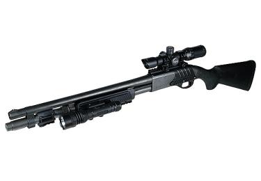 Кронштейн weaver на Ремингтон 870 и 11-87. UTG M87 Tactical Shotgun Mount (MNT-RM870A)