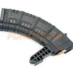 Магазин Pufgun на СКС, 7,62х39, 30 патронов, полимер, черный, возможность укорочения
