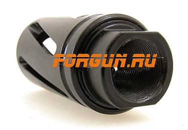 Дульный тормоз компенсатор (ДТК) .410 для Сайги Тактика Тула Турбо 20053