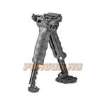 Рукоятка передняя на Weaver/Picatinny, сошки, регулируемая, складная, быстросъемная, пластик/алюминий, FAB Defense, FD-T-POD G2