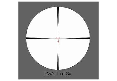 Оптический прицел March 3-24x42 с подсветкой, FF, FMA-1, 1/4MOA (D24V42FIMA)