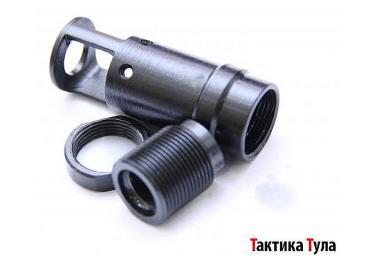 Дульный тормоз компенсатор (ДТК) .410 для Сайги Тактика Тула 20005