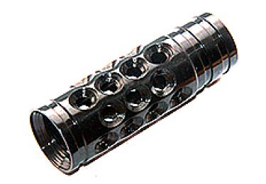 Дульный тормоз компенсатор (ДТК) 12 кал. для Сайга, Вепрь 12 Тактика Тула 20067