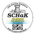 Пульки к пневматике 4.5 мм JSB Diabolo SCHaK (.177) банка 500 шт