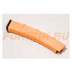 Магазин Pufgun на Сайга-9/ПП-Витязь, 9х19, 30 патронов, полимер, возможность укорочения, оранжевый, 109 г