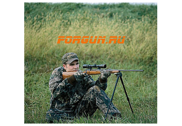 Сошки для оружия Caldwell Shooting Bipod Sitting (на антабку) (длина от 36 до 76 см), 335235