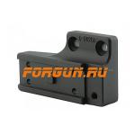 Переходник для установки коллиматоров Aimpoint Micro на кронштейны Spuhr ISMS, левосторонний, A-0025B