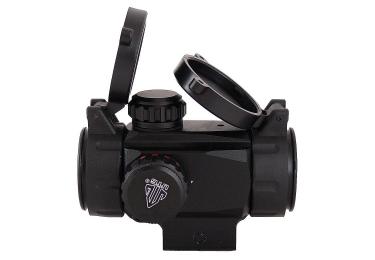 Коллиматорный прицел Leapers UTG 1x34 на Weaver/Picatinny, быстросъемный, компактный, SCP-DS3028W