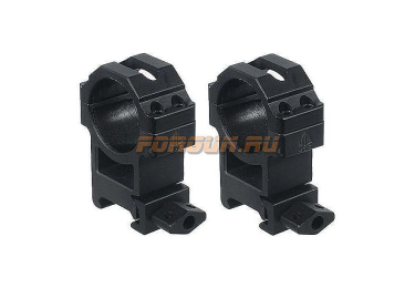 Кольца Leapers UTG 30 мм для установки на Weaver/Picatinny, высокие, быстросъемные, ширина 22 мм, RG2W3224