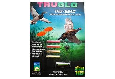 Комплект для прицельной стрельбы: мушка TRUGLO TG949A на винтах универсальная (диаметр 0,07) и вставки 5 цветов 000949A