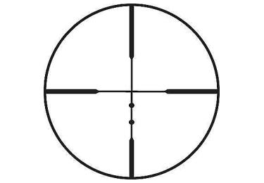 Оптический прицел Leupold VX-1 2-7x33 (25.4mm) Shotgun/Muzzleloader матовый (LR Duplex) 113865