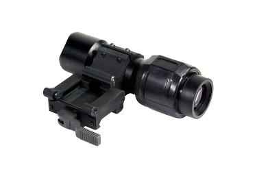 Увеличитель Sightmark 5х с откидным быстросъемнымкронштейном (SM19025)