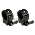 "Кольца Leapers UTG 30 мм для установки на ""Ласточкин хвост"", средние, быстросъемные, RQ2D3154"