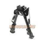 Сошки для оружия Leapers UTG, Weaver/Picatinny или антабка, высота 15-20 см, TL-BP78