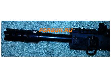 Дульный тормоз компенсатор (ДТК) 12 кал. для Вепрь 12, ВПО-205, Сайга 12 Камертон-3 РЫСЬ