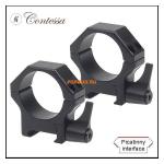 Кольца Contessa на Weaver D30mm, высота BH 19mm, быстросъемные, (SPP02/C/SR пара), сталь