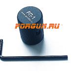 Накладка увеличенная ручка затвора АК, Сайга, Вепрь Зенит РП-1, алюминий (черный)