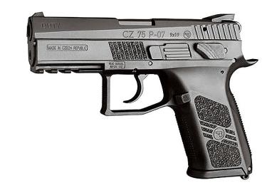 Пневматический пистолет CZ-75 P-07 DUTY (ASG)