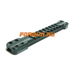 Основание Weaver для вентилируемых прицельных планок 6.0-7.1 мм Беломо Combat, 006071-1, алюминий (черный)